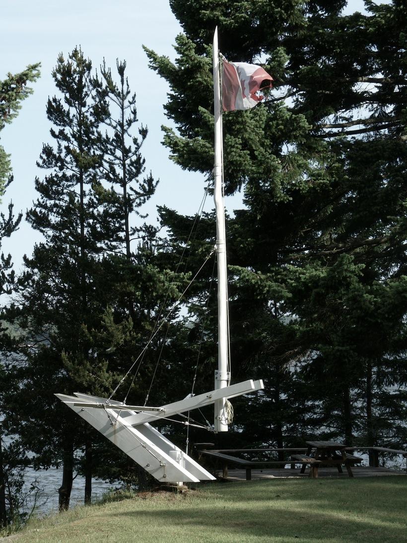 Castle Glynn Flagpole